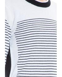 Rag & Bone - White Striped Sweater - Lyst