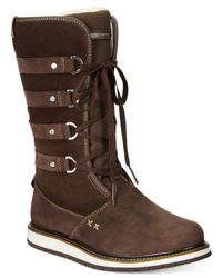 Helly Hansen | Brown Hedda Lace-up Cold Weather Boots | Lyst