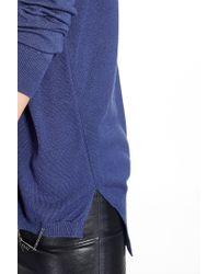 Liu Jo | Blue 'tahmira' Jumper | Lyst