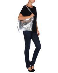 MM6 by Maison Martin Margiela - Metallic Shoulder Bag - Lyst