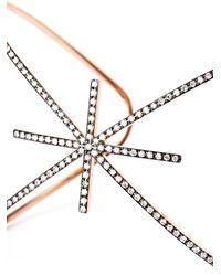 Diane Kordas - Pink Diamond & Rose-Gold Starburst Cuff - Lyst