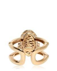 Roberto Cavalli | Metallic Swarovski Talisman Bracelet | Lyst