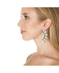 Lionette | White Byron Bay Earrings | Lyst