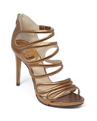 Vince Camuto - Brown Fortuner Evening Sandals - Lyst