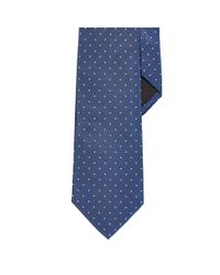 Ralph Lauren Black Label | Blue Polka-dot Peau De Soie Tie for Men | Lyst