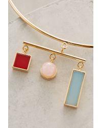Sabrina Dehoff | Metallic Libra Collar Necklace | Lyst