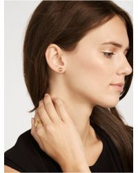 BaubleBar - Metallic Facet Stud Duo - Lyst
