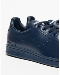 Adidas By Raf Simons | Blue 'stan Smith' Sneakers for Men | Lyst