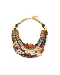 Lizzie Fortunato | Metallic The Medina Necklace - Gold Multi | Lyst