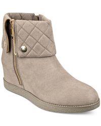 Marc Fisher | Natural Carolann Booties | Lyst