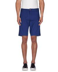 Element - Blue Bermuda Shorts for Men - Lyst