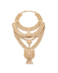 Samantha Wills | Metallic The Grand Necklace - Shiny Gold | Lyst