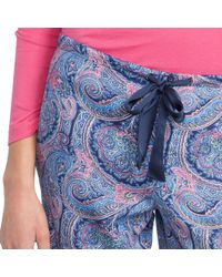 Pink Pony - Blue Drawstring Pajama Pant - Lyst