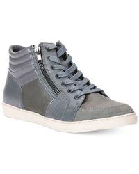 Calvin Klein Jeans | Gray Zeel Sneakers for Men | Lyst