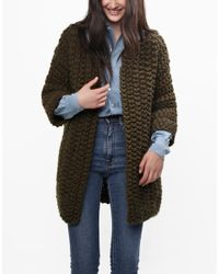 Wool And The Gang | Natural Cross Country Coat | Lyst