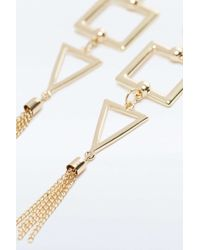 Urban Outfitters - Metallic Geo Wow '70s Statement Earrings - Lyst