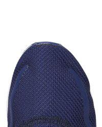 Adidas Originals - Blue Los Angeles Indigo Mesh Trainers - Lyst
