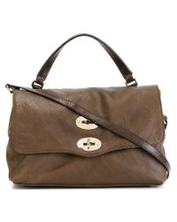 Zanellato | Brown Adjustable Top Tote | Lyst