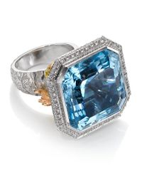 Theo Fennell - Blue Under The Sea Ring - Lyst