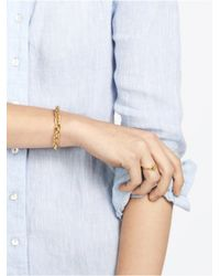 BaubleBar - Metallic Gold Braid Cuff - Lyst