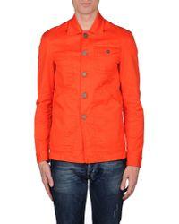 DSquared² - Orange Blazer for Men - Lyst