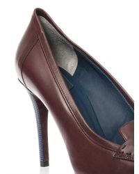 Fendi - Red Andrea Leather Pumps - Lyst