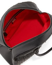 Christian Louboutin - Black Panettone Large Degrade Spiked Satchel Bag - Lyst