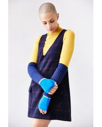 Urban Outfitters | Blue Sport Colorblock Armwarmer | Lyst