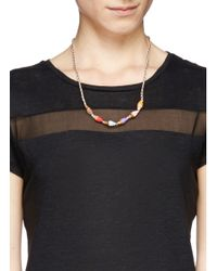 Venessa Arizaga - Multicolor 'ice Cream 4 U' Necklace - Lyst
