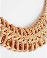 ALDO - Natural Arydda Black Rope Of Gold Necklace - Lyst