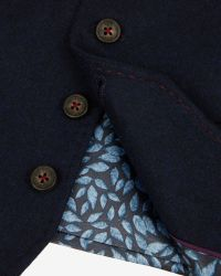 Ted Baker   Blue Wool And Cashmere-blend Waistcoat for Men   Lyst