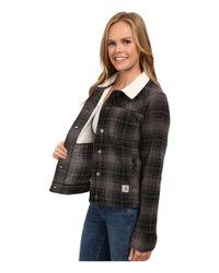 Carhartt | Gray Cedar Sherpa Jacket | Lyst