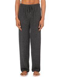 Derek Rose - Gray Finley Cashmere Pyjama Bottoms - Lyst
