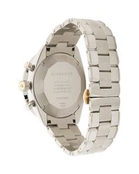 Givenchy | Gray Women's Eleven Chronograph Watch | Lyst