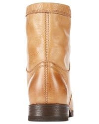Frye - Natural Women's Erin Work Booties - Lyst