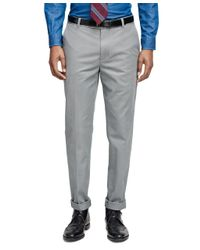 Brooks Brothers | Gray Milano Fit Vintage Washed Chinos for Men | Lyst