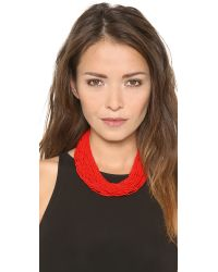 Bex Rox - Red Maasai Necklace - Lyst