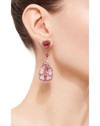 Wendy Yue - Pink Droplet Earrings - Lyst
