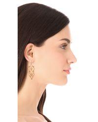 Alexis Bittar - Metallic Mosaic Chandelier Earrings - Lyst