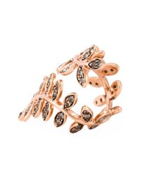 Ca&Lou | Metallic 'carine' Ring | Lyst