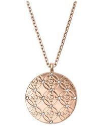 Michael Kors | Metallic Mkj4478791 Ladies Necklace | Lyst