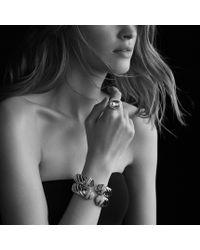 David Yurman - Metallic Waverly Bracelet with Diamonds - Lyst