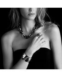 David Yurman | Black Wheaton Ring With Diamonds | Lyst
