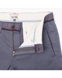 Tommy Hilfiger   Blue Slim Fit Chino for Men   Lyst