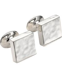 Monica Vinader - Multicolor Sterling Silver Square Cufflinks for Men - Lyst