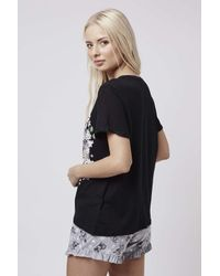 TOPSHOP | Black Bambi Pyjama Set | Lyst