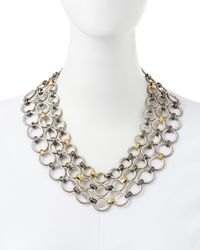 Gurhan - Multicolor Hoopla Multistrand Necklace - Lyst