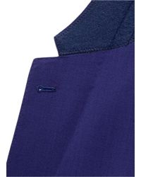 Paul Smith - Blue Slim Fit Wool Suit for Men - Lyst