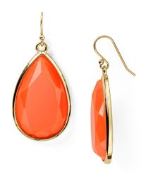kate spade new york | Orange Day Tripper Earrings | Lyst