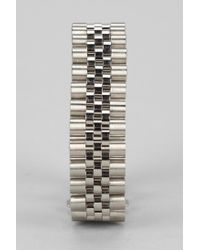 Urban Outfitters | Metallic Mister Dual Tone Bracelet for Men | Lyst